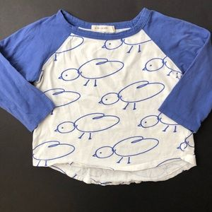 Kid + kind 2t chick raglan
